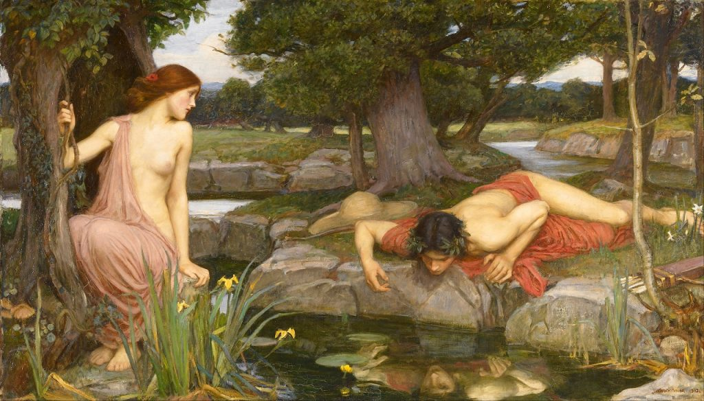 Echo and Narcissus, John William Waterhouse, 1903