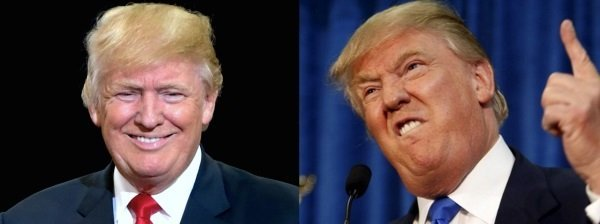 Two faces of Trump