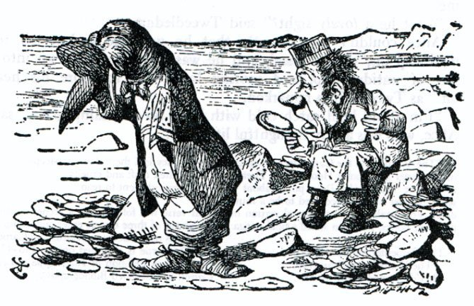 Walrus and the Carpenter, John Tenniel