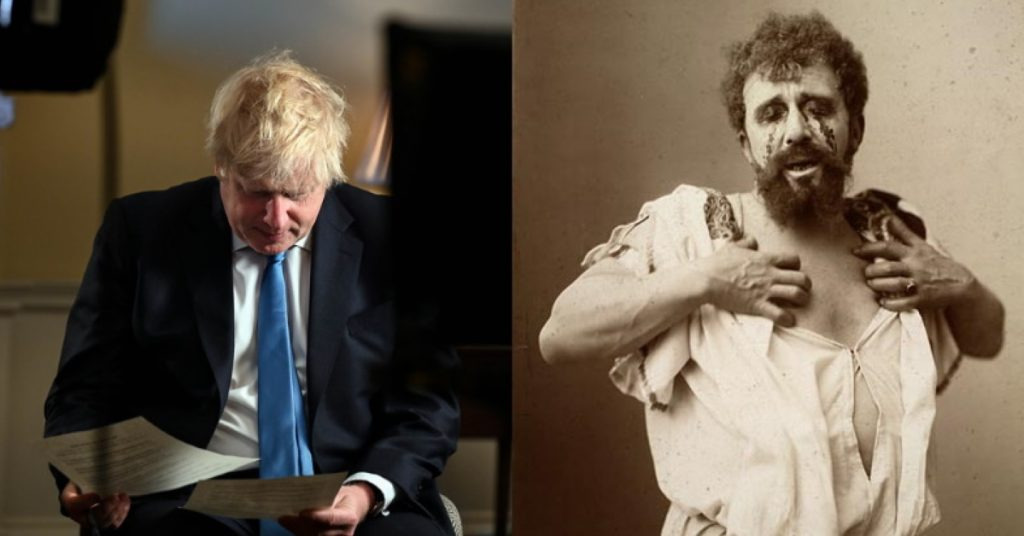 Boris Johnson/Oedipus Rex
